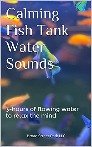 Calming Fish Tank Water Sounds: 3-hours of flowing water to relax the mind (English Edition)