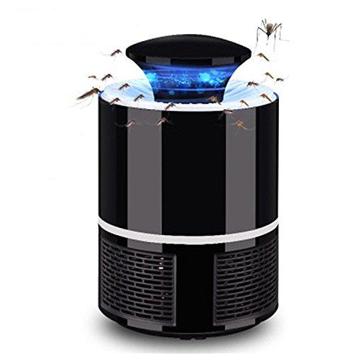 Serface Lampada Anti zanzara Luce LED a 360 ° a Tutto Tondo 5W silenziose e inodore 19x13 cm (Bianco)