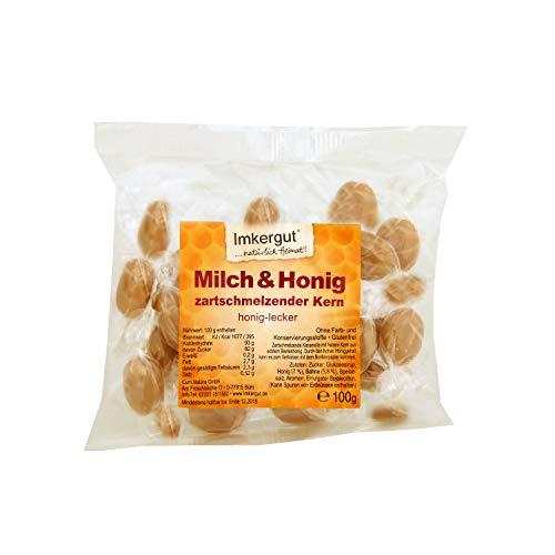 Milch & Honig Bonbons 100 g Beutel zartschmelzender Kern - Imkergut