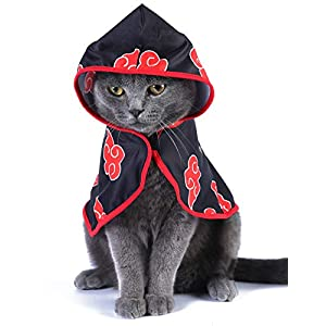 Coomour Cat Costume Funny Pet Clothes Cute Anime Small Dog Apprarel Outfits Puppy Cosplay Cape