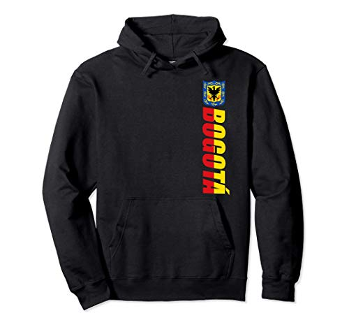Flag Of Bogota Colombia Camiseta Republica de Colombia Sudadera con Capucha