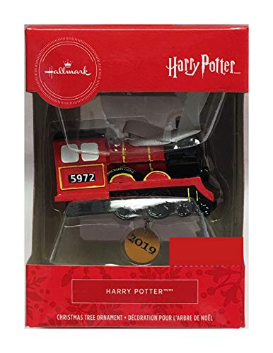 HARRY POTTER Hallmark 2019 Hogwarts Express Christmas Ornament
