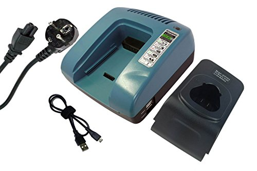 PowerSmart® Cargador para Bosch 2 607 336 013, 2 607 336 333, 2 607 336 864, BAT411A, BAT413A, 607 225 135, AL 1130 CV, CLPK30-120, CLPK40-120 0, CLPK5. 0-120, GDR 10.8 V-LI, GDR 10.8-LI, GMF 10.8 V-LI, GOP 10.8 V-LI, GSA 10.8 V-LI, GSB 10.8-2-LIH, GSL 2.