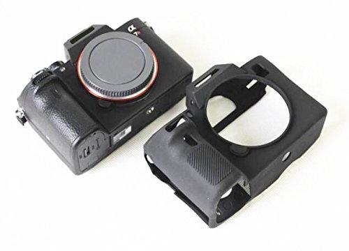 Hihouse Silikon Schutzhülle für Sony A73, A7RM3, A7R3 III, A73 A7M3, A7III