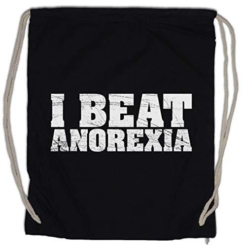 Urban Backwoods I Beat Anorexia Turnbeutel Sporttasche