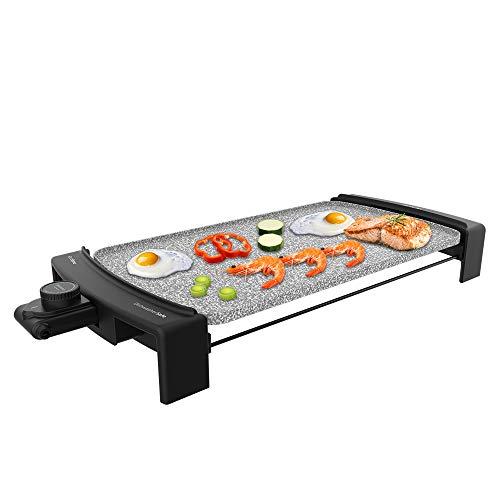 Cecotec Plancha eléctrica Tasty &Grill 3000 RockWater. 2600 W, Revestimiento de Riedra...
