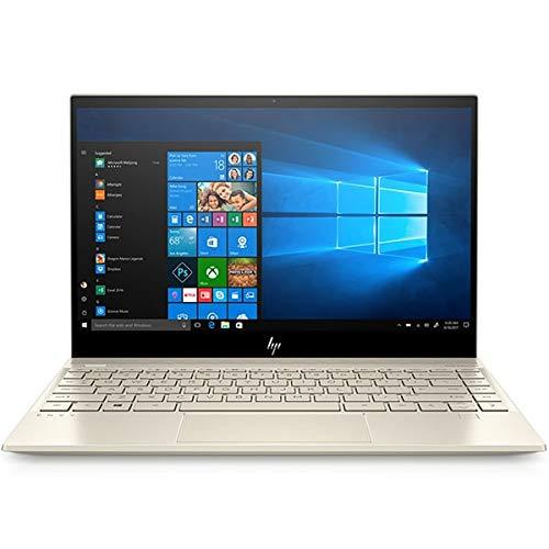HP Envy Laptop 13-aq1002ng, oro, Intel Core i7-10510U, 16 GB di RAM, 1 TB SSD, 13,3' 1920 x 1080 FHD, 2 GB NVIDIA GeForce MX250, HP 1 anno WTY, tastiera tedesca + assistenza EuroPC (rinnovato)