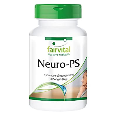 Neuro-PS - HIGH Dosage - 30 softgels - phosphatidylserine from Soy Lecithin