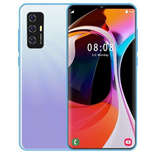 Teléfono móvil, S23, MTK6599, 10 núcleos, 6.122 Pulgadas HD2230 * 1080, 5G, 8GB + 512GB 13MP + 24MP batería 4800mah, desbloqueo Facial, Android 10.0