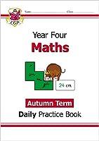 New KS2 Maths Daily Practice Book: Year 4 - Autumn Term