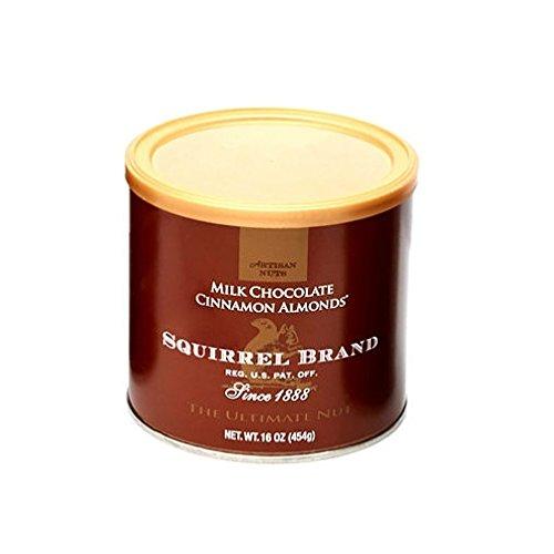 Squirrel Brand Milk Chocolate Cinnamon Almonds