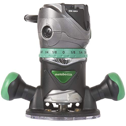 Metabo HPT Router | Fixed Base | 11 Amp Motor | 2-1/4 Peak HP | Variable Speed | M12VC