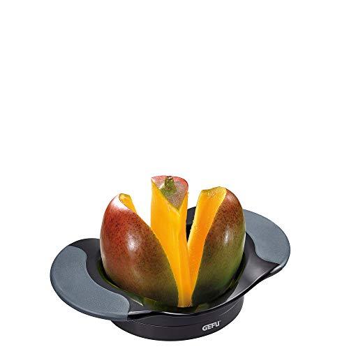 GEFU 89469 Apfel- und Mangoteiler SWITCHY, Mango teilen & entkernen, Mangoschneider, Apfelteiler, Obstschneider
