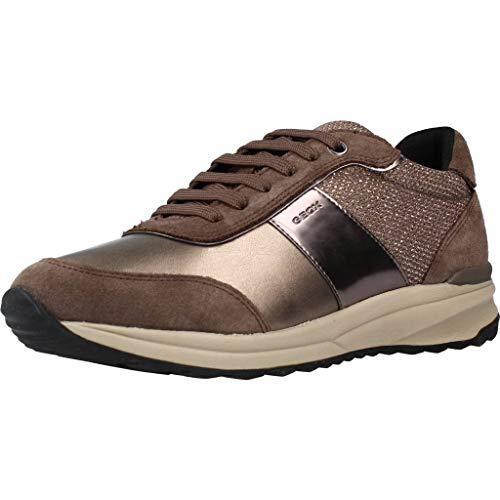 Zapatillas Deporte de Mujer GEOX D942SA 022DV D AIRELL C6132 Chestnut Talla 37