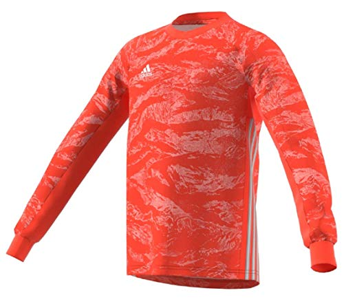 adidas AdiPro 19 Youth Goalkeeper Jersey Long Sleeve (Medium, semi Solar red)
