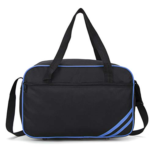 Ryanair Cabin Bag 40x20x25 Holdall Cabin Luggage Under Seat Flight Bag 2020 - in 6 Colours (Blue)