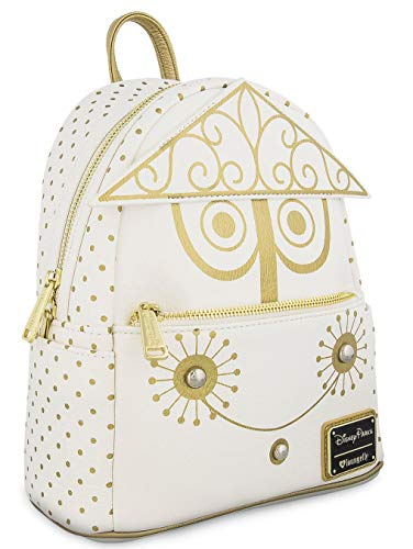 Loungefly Disney It's A Small World Clock Face Mini Backpack By Loungefly, White