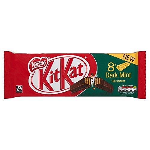 Nestle Kit Kat Dark Mint Multipack 8 KITKAT 2-Finger-Bars 165.6g