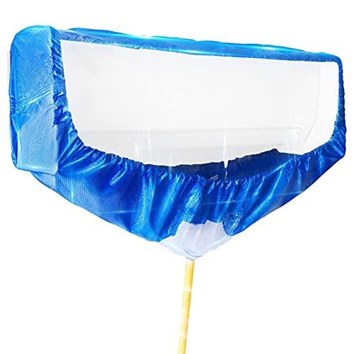 Cubierta impermeable para aire acondicionado, bolsa de limpieza para el polvo, para instalación en pared, doble tejido de PVC para familias, oficinas, hoteles, centros comerciales