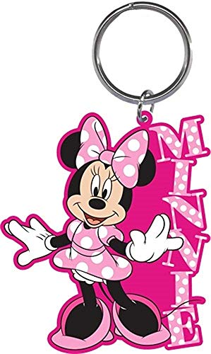 Disney Minnie Mouse Standing Laser Cut Keychain key chain