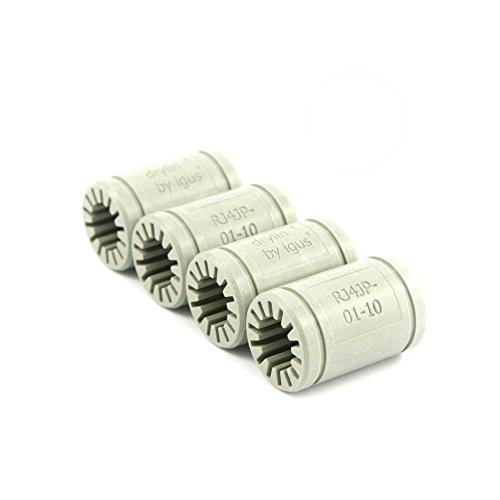 Igus ® Gleitlager 10mm - DryLin ® R - RJ4JP 01-010 (4 Stück)