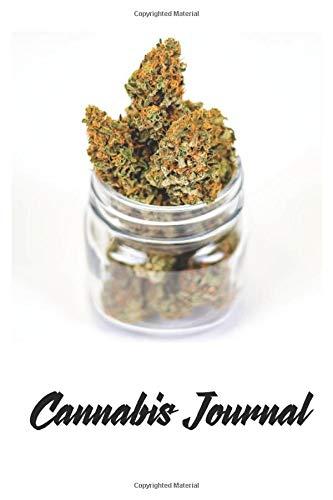 Cannabis Journal: 120 Page 6' x 9'...
