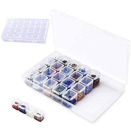 INTVN 2pcs Caja organizadora de almacenaje de joyerías...