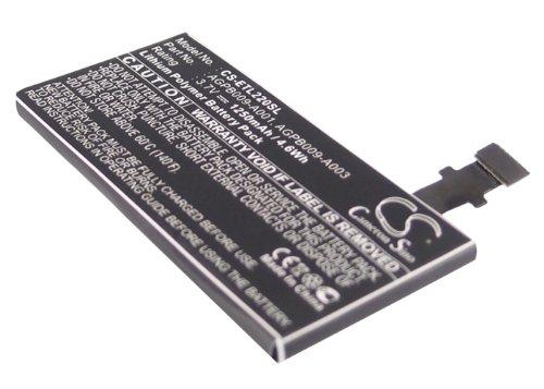 Li-Ion Battery Pack Fits Sony-Ericsson Xperia P, LT22, LT22i, Nyphon, AGPB009-A001, 1252-3213
