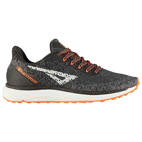 Karrimor Herren Rapid Trainingsschuhe Laufschuhe Low Top Holzkohle/Orange 44 EU