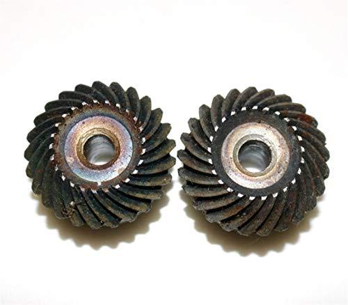 2Pieces / Lote 1,5 M-25T / 25T precisión Espiral Engranaje cónico helicoidal del Engranaje-Diámetro: 39.5mm Agujero D: 10 mm