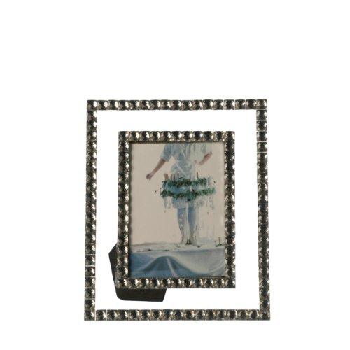 Leonardo Bella Bilderrahmen, handgefertigter Fotorahmen, Rahmen mit Verzierungen, 130 x 90 mm (HxBxT), 058527