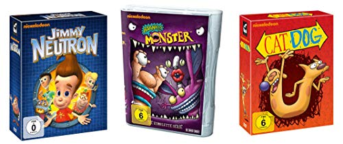Nickelodeon Kultserien Paket - Jimmy Neutron + AAAHH!!! Monster + CatDog (Limited Edition) (27 DVDs)