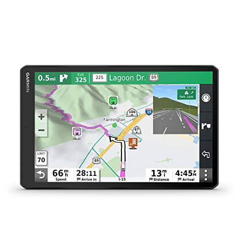 """Garmin RV 1090, 10"""" RV Navigator, Edge-to-Edge Display, Custom Routing for Size and Weight of Your RV/Trailer"""