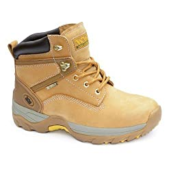 Wood World mens NuBucky HyDRY Protective Boots