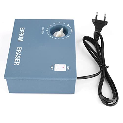 Temporizador borrable EPROM, borrador EPROM 220V Borrador EPROM de alta velocidad para borrar chips EPROM para electricidad(EU Plug)