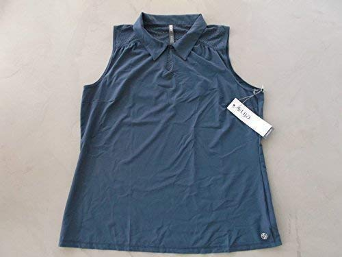LIJA Moisture Wicking Dames Golf Polo Shirt Blackberry XL