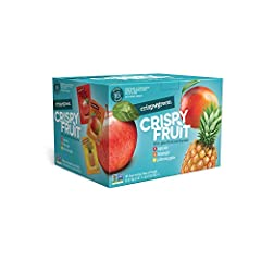 CONTAINS: Each variety pack includes: 8 freeze-dried apples, 4 freeze-dried mangoes and 4 freeze-dried pineapples. 100% Pure Fruit Nothing Else! NUTRIENT PACKED with vital vitamins and nutrients from ONE single ingredient CONVENIENT AND PORTABLE: Per...