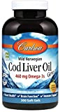 Best Cod Liver Oils - Carlson - Cod Liver Oil, 460 mg Omega-3s Review