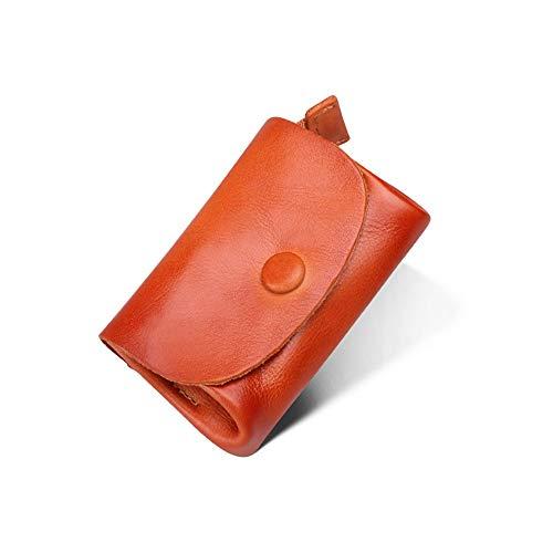 Feixunfan Mannen slanke portemonnee Mannen Multifunctionele Kleine Portemonnee Credit Card Houder Grote Capaciteit Cash Kleine Objecten Opslag Munt Pocket Lederen Portemonnee Ideaal voor mannen met traditionele smaken