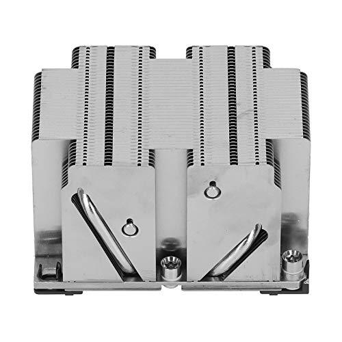 PUSOKEI 2U UP X11 CPU Heasink Single/Dual/Multi Processor CPU Cooler LGA 3647-0 2U Pasivo CPU Refrigeración del disipador de Calor para X11 Purley Platform 2U y servidores de la Serie Superior