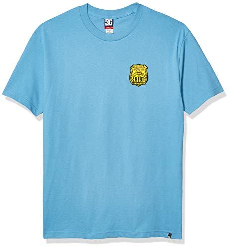 DC Herren Philly 50 Short Sleeve Tee Hemd, Blau-Bonnie Blue, Groß