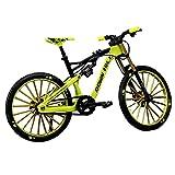 Modello Di Bicicletta In Lega 1:10, Giocattolo Per Mountain Bike Con Dito Autoportante, Giocattolo Modello Mini Bicicletta Da Montagna, Ornamento Da Tavolo Giocattolo Per Bicicletta Con Dito