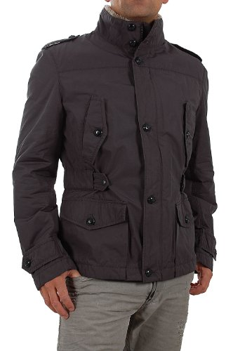 BOSS Orange Jacke 50247931/Odire-W Dunkelgrau Outdoor-Jacke (48)