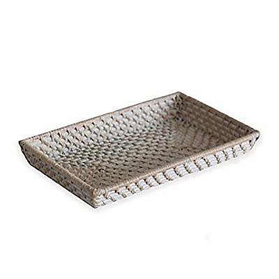 Biscayne Rattan Guest Towel Tray