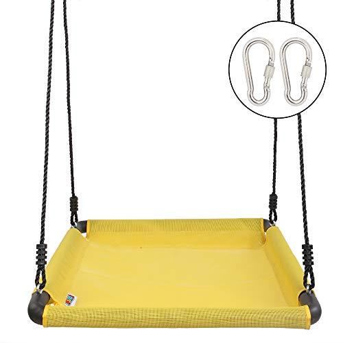 JOYMOR Kids Giant Platform Net Swing Extra Larger 40