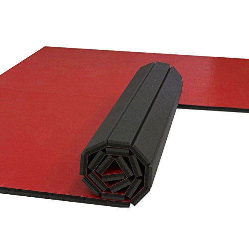 10'x10' Dollamur Flexi-Roll® Wrestling Mat (Red)