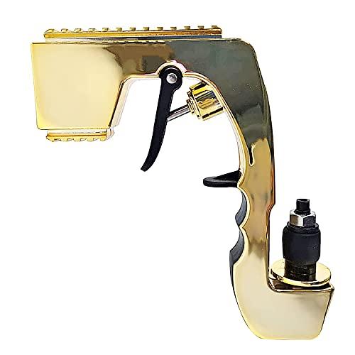 Pistola de champaña, expulsor de burbujas con pulverizador, pistola de cerveza, tapón de botella de vino, dispensador ajustable, para bodas, fiestas, discotecas, herramientas, color dorado