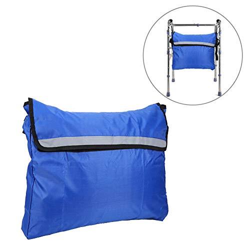 Jarchii Aufbewahrungstasche, Rollstuhl Aufbewahrungstasche Walker Mobilitätshilfen Wasserdichter Aufhängetasche Zubehör für die meisten Wanderer, Rollstühle, Elektroroller, Mobile Stühle(Blau)