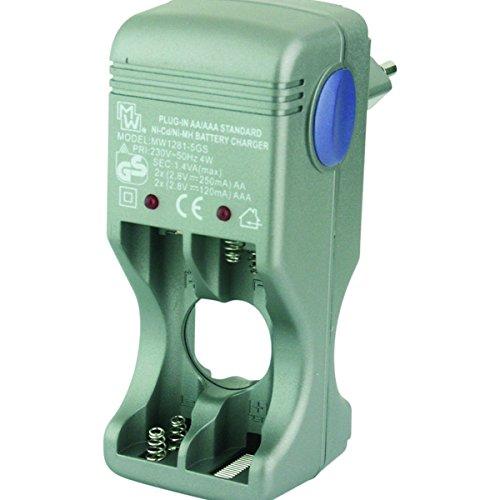 Oplader-net-oplader voor batterijen R6 AA r-03 AAA Ni-CD/Ni-MH