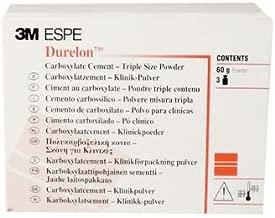3M ESPE 38236 Durelon Triple Powder Carboxylate Luting Cement, Regular Set